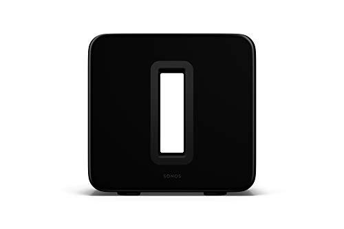 Sonos Sub (Gen 3) - The Wireless Subwoofer for Deep Bass - Black