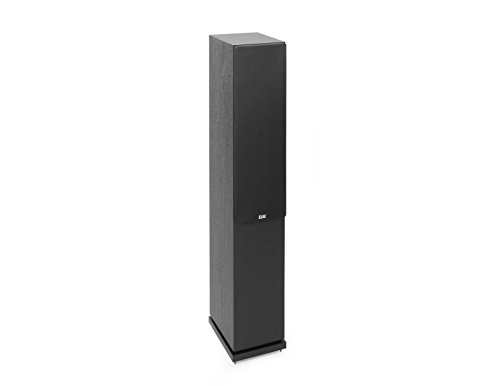 Elac Debut 2.0 F5.2 Floorstanding Speaker, Black (Each)