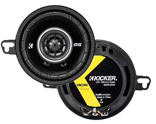 KICKER 43DSC3504 3-1/2-Inch 3.5-Inch 30W...