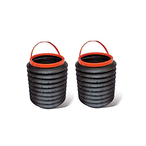 WeTest 2 Pcs Mini Cup Holder Garbage Can -...