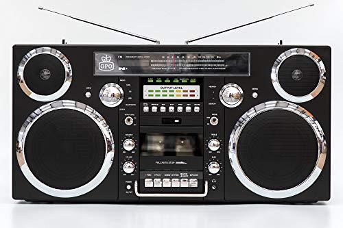 GPO Brooklyn 1980S-Style Portable Boombox -...