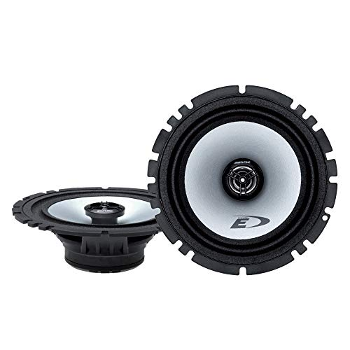 Alpine SXE-1725S 80W 6.5' 2-Way Type-E Coaxial Speakers W/ Mylar-Titanium Tweeters,black