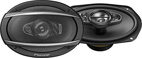 Pioneer TS-A6990F 6x9' 5-way car audio speakers (Pair),blk