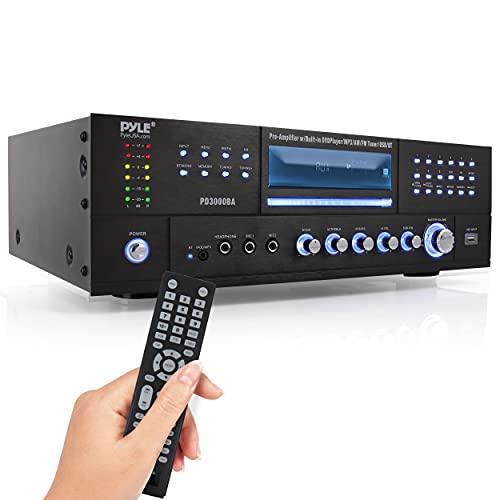 Pyle 4 Channel Wireless Bluetooth Amplifier -...