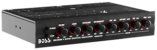 BOSS Audio Systems EQ1208 4 Band Pre-Amp...