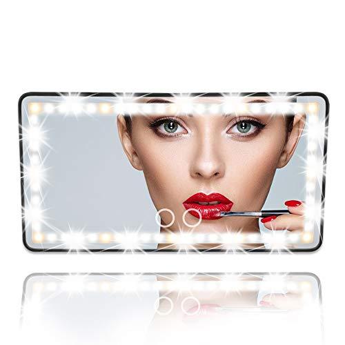 Car Visor Vanity Mirror Car Makeup Mirror...