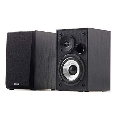 Edifier R980T 4' Active Bookshelf Speakers - 2.0 Computer Speaker - Powered Studio Monitor (Pair) (Renewed)