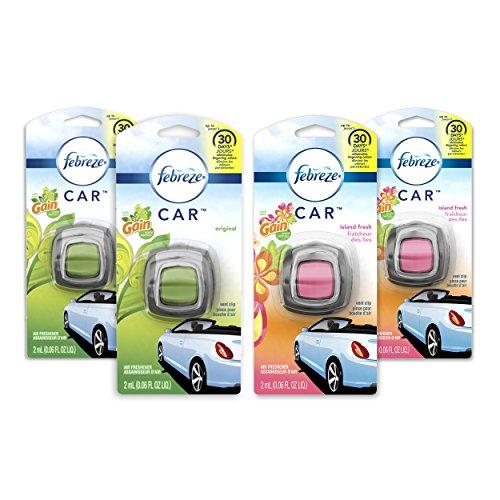 Febreze Car Air Fresheners, 2 Gain Original...