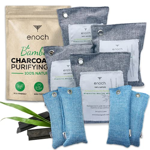 Enoch Bamboo Charcoal Air Purifying Bags (8...