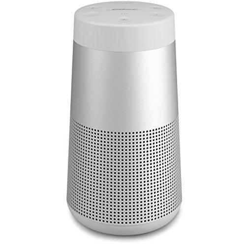 Bose SoundLink Revolve, Portable Bluetooth Speaker (with 360 Wireless Surround Sound), Lux Gray