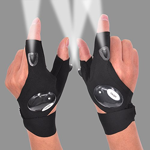 LED Flashlight Glove Gifts for Men Father Day...