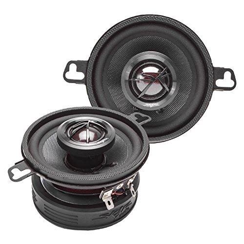 Skar Audio TX35 3.5' 120W 2-Way Elite Coaxial Car Speakers, Pair