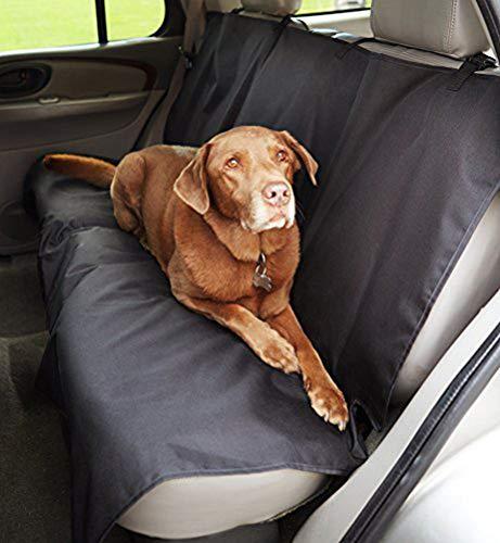 Amazon Basics Waterproof Car Back Bench Seat...
