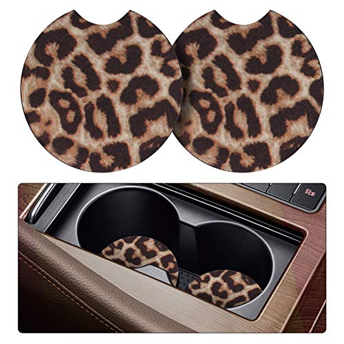 tifanso 2 Pack Car Coasters for Drinks...