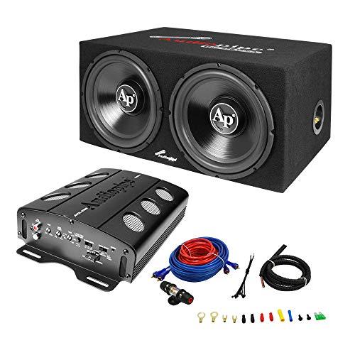 Audiopipe APSB-1299PP Dual 12 Inch Car Audio...