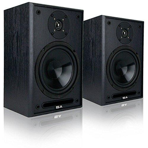 AVX Audio 6.5 Inch Bookshelf Speaker Pair (Sound Appeal 6.5' Speakers)