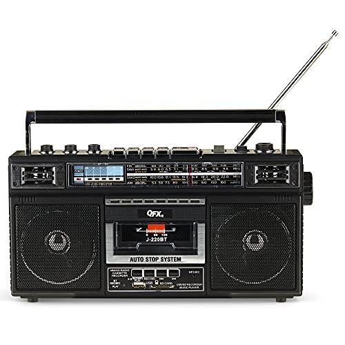 QFX J-220BT ReRun X Cassette Player/Recorder...