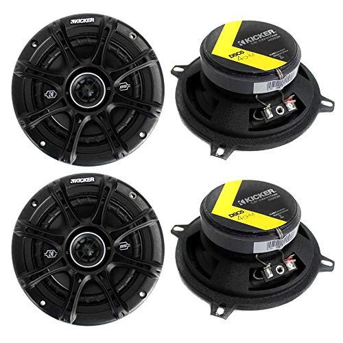 KICKER 4 41DSC54 D-Series 5.25' 400 Watt 2-Way 4-Ohm Car Audio Coaxial Speakers