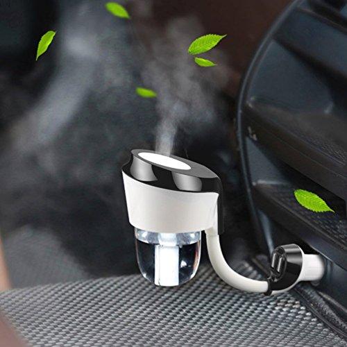 Vyaime Car Diffuser Humidifier, Essential Oil...