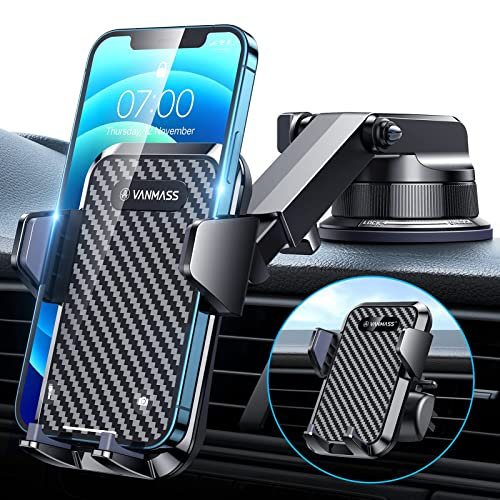 [2021 Upgraded] VANMASS Car Dashboard Phone...
