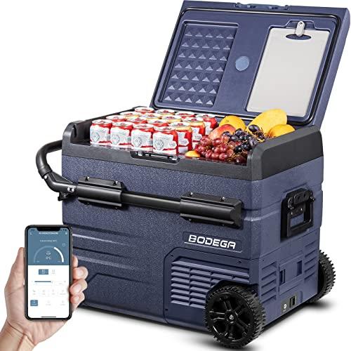 BODEGA 12 Volt Car Refrigerator, Car Fridge...