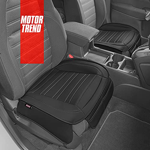 Motor Trend Black Faux Leather Seat Covers...