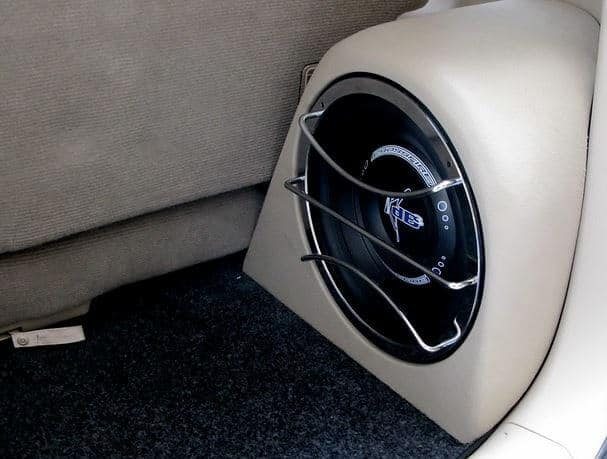 low profile amplified car subwoofer